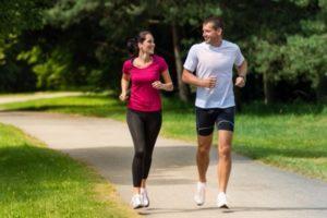 Berolahraga untuk menurunkan berat badan